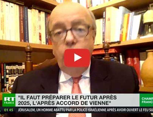 Relations Etas-Unis – Iran : «Il faut préparer l'avenir après 2025, l'après-accord de Vienne» – RT France