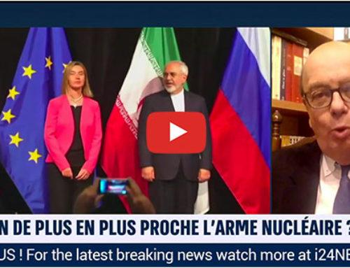 Iran : Les tensions autour du programme nucléaire militaire iranien – i24News