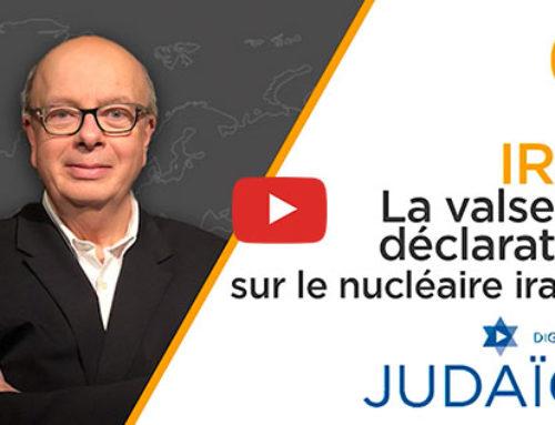 Iran : les questions autour du nucléaire iranien, avant les élections présidentielles à Tehéran – Judaïca