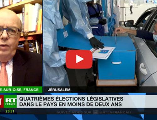 Législatives en Israël : la demande d'un Premier ministre fort – RT France