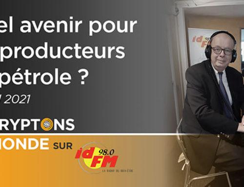 Quel avenir pour les producteurs de pétrole ? IDFM 98