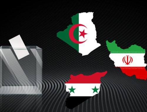Syrie, Algérie, Iran, trois élections «démocratiques» sans le peuple