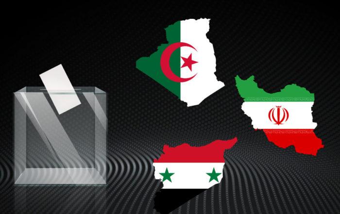 élections iran Algérie Syrie