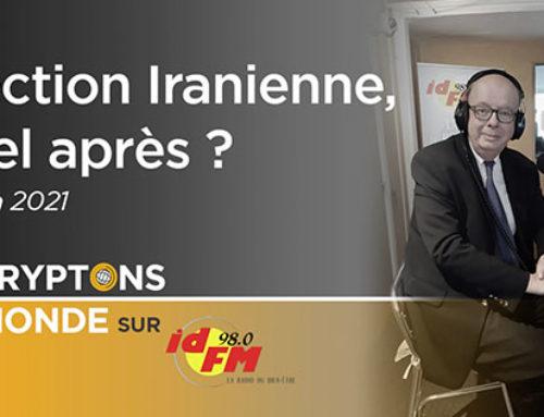 Iran : Élection Présidentielle : quel après ? IDFM98