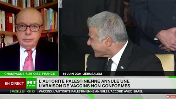 Vaccin Covid tension entre Israel et Palestine