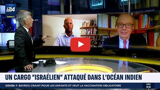 attaque cargo israelien
