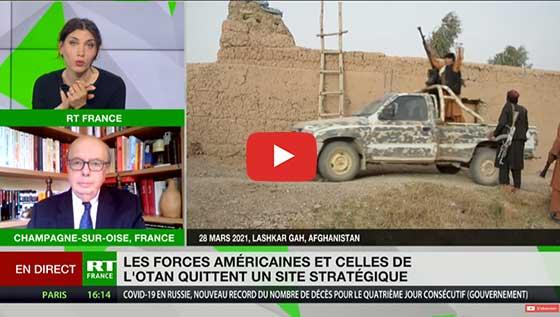 retrait troupes americaines Otan Bagram