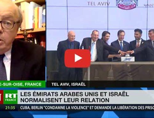 La normalisation des rapports entre Israël et les Emirats Arabes Unis «va dans le sens du rationnel»
