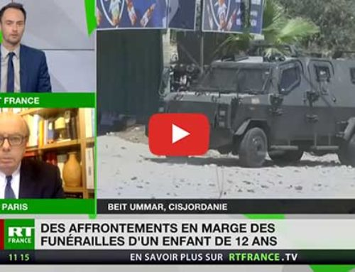 Heurts en Cisjordanie après les funérailles d'un enfant de 12 ans – RT France