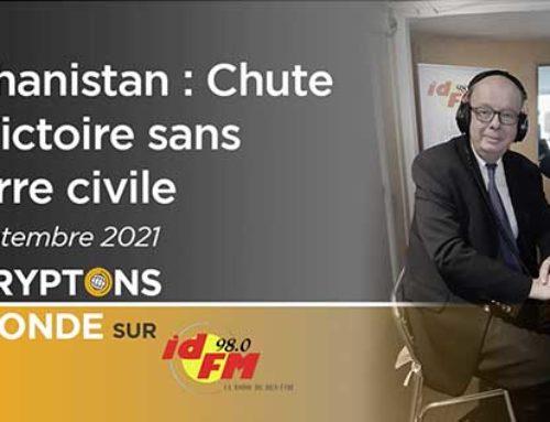Afghanistan : Chute et Victoire sans guerre civile – IDFM98