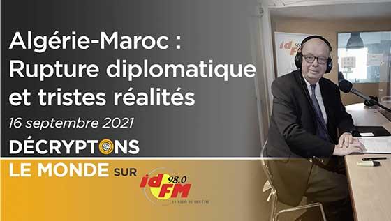 Algérie-Maroc rupture diplomatique